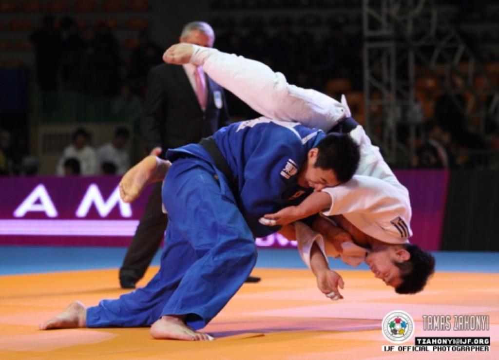 Anai takes revenge on Hwang at IJF Masters in Suwon