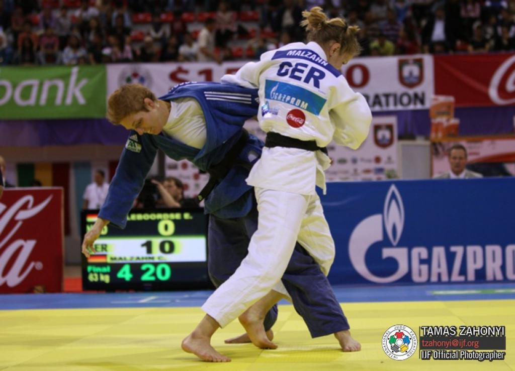 Germany wins four medals at second day in Tunis