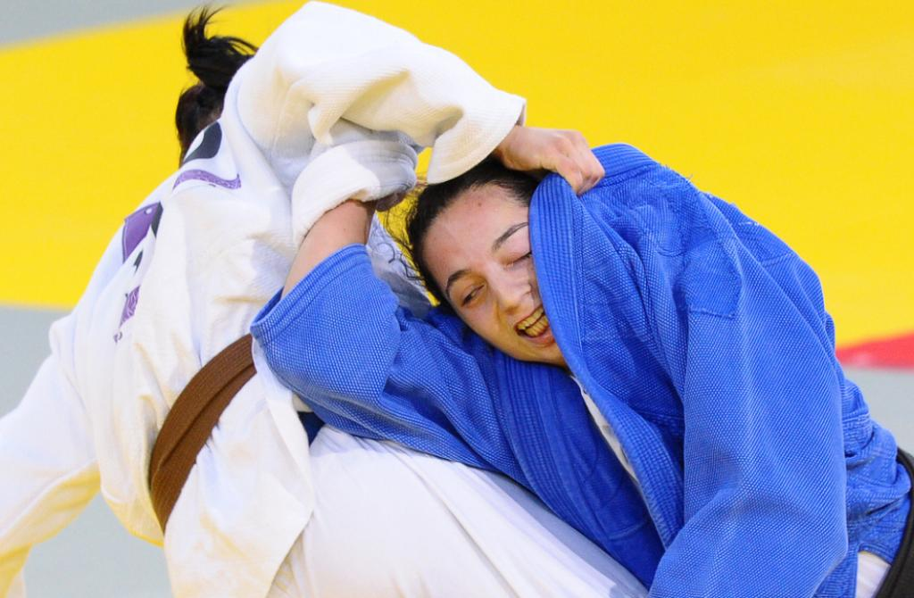 Europe takes all Olympic medals U78kg: golden Belgian Lola Mansour
