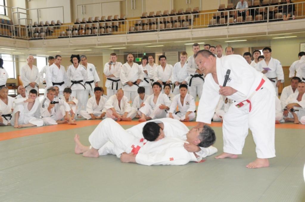 Overwhelming European participants in Kodokan Summer courses