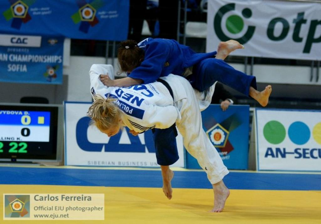 Five titles for five countries at European Juniors