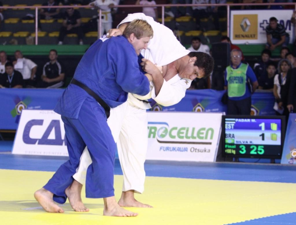Brazil collect medals in Rome, but Russia and Korea divide the gold