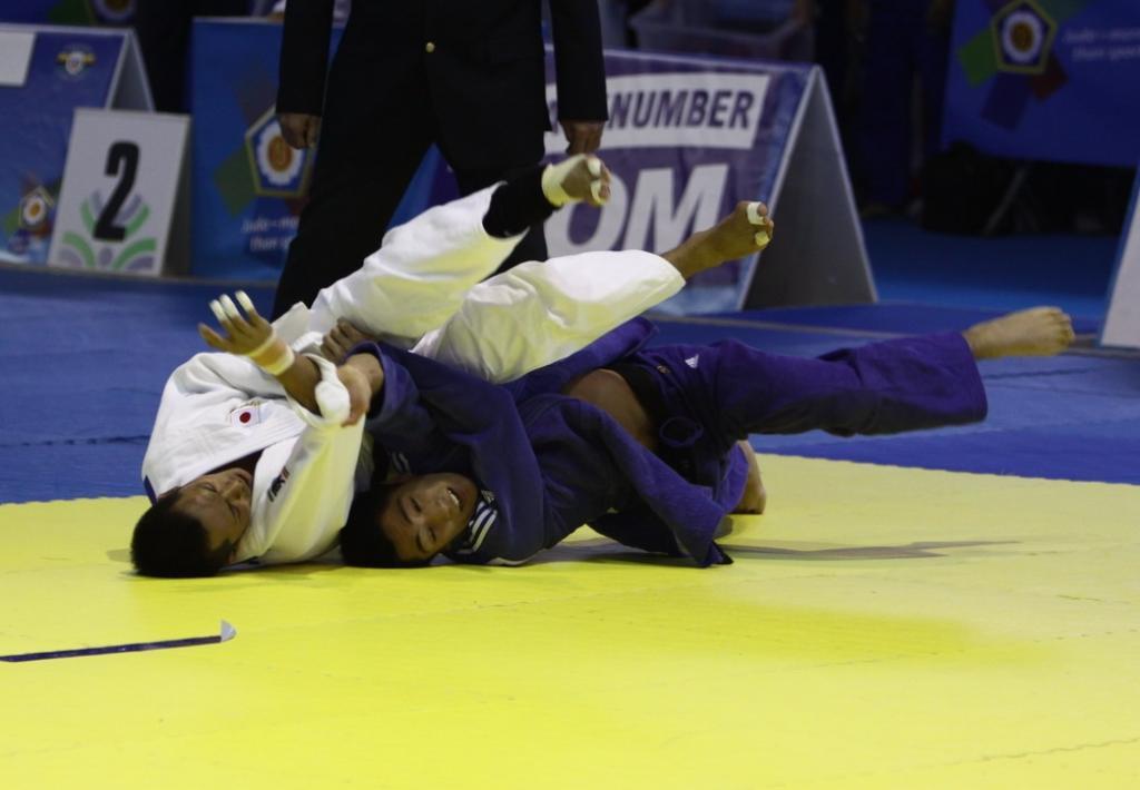 Korea showcases strenght in Rome