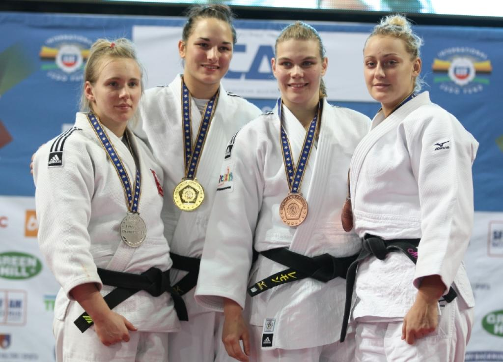 Hungarian Abigel Joo collects fifth European title