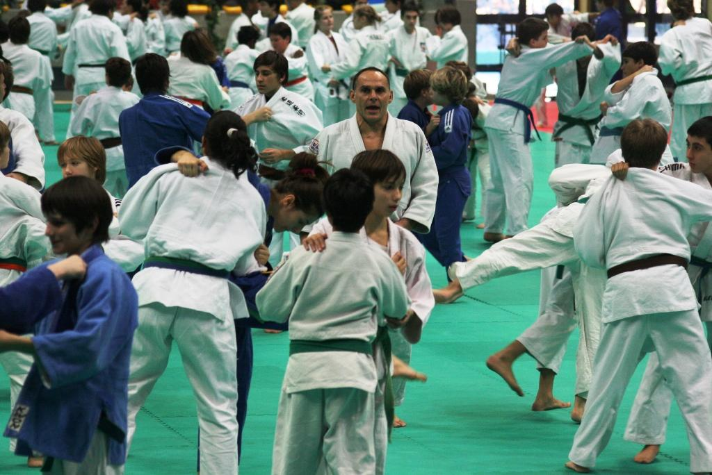 Judo Winter Camp in Udine featured by many judo stars