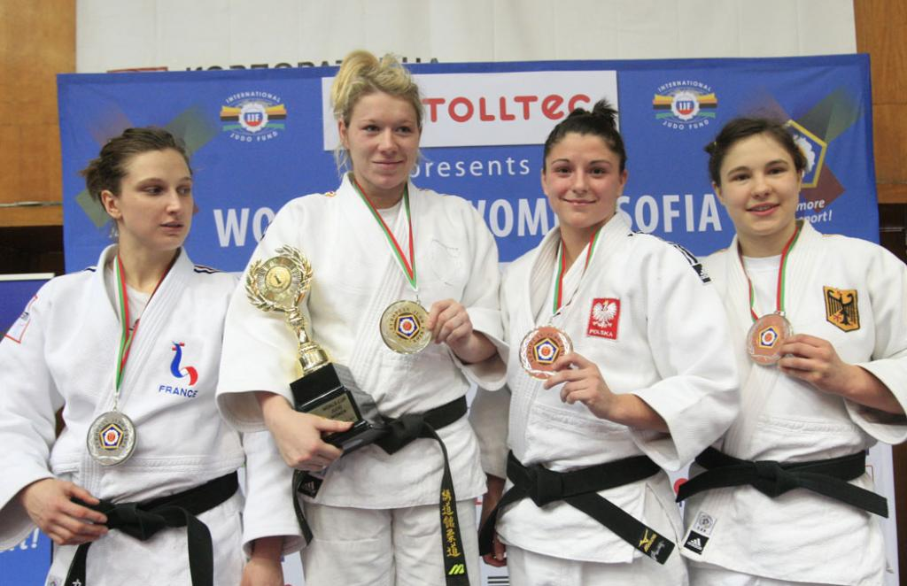 German women dominate in Sofia