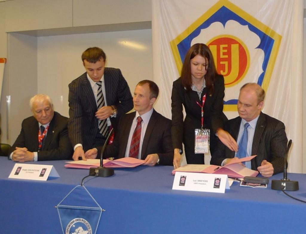 EJU and European Police Union join forces