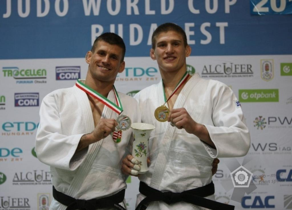 Ungvari brothers take gold and silver in Budapest