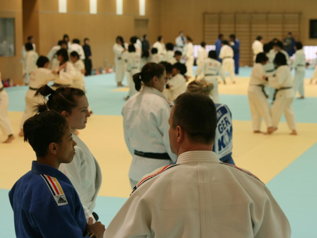 European judoka report earthquake experience in Tokio