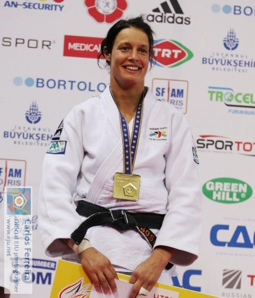 Edith Bosch on track for Olympic Games