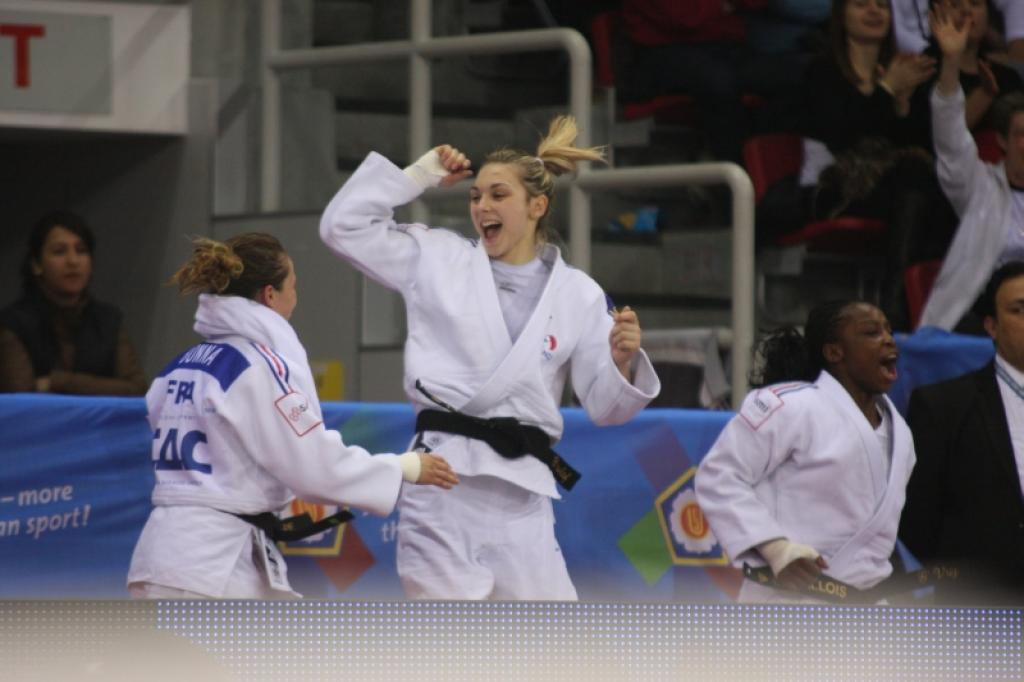 French women take European Team title
