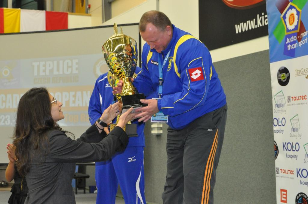Ukraine also dominant at European Cup in Teplice