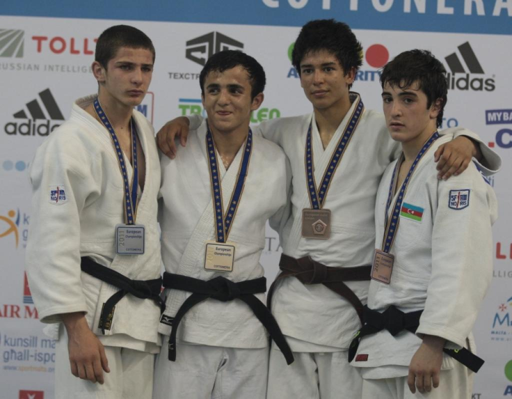 Strong judo in the men's light divisions by European Cadets