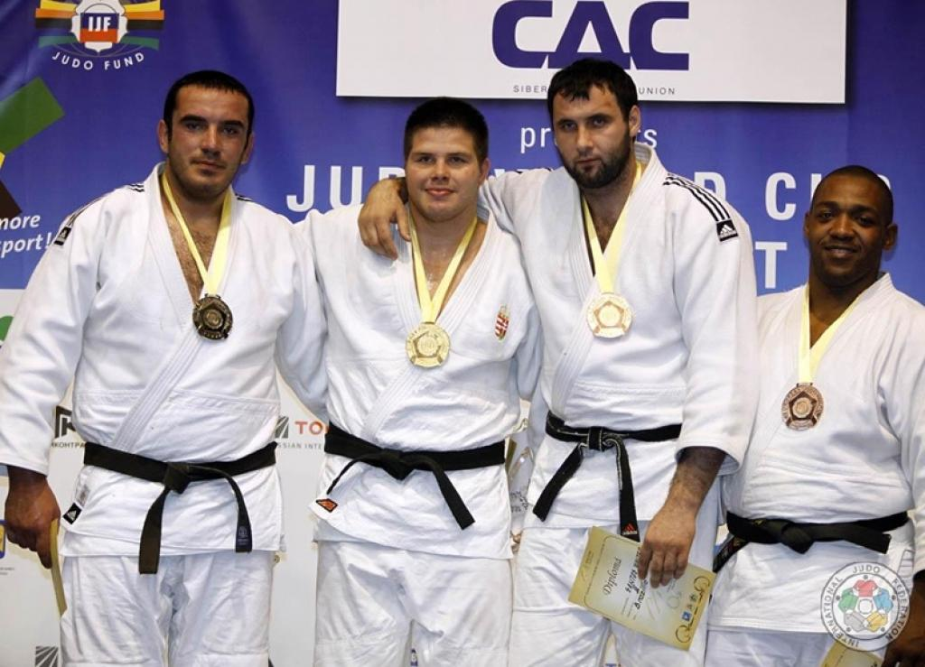 Georgia takes most gold medals at World Cup Bucharest