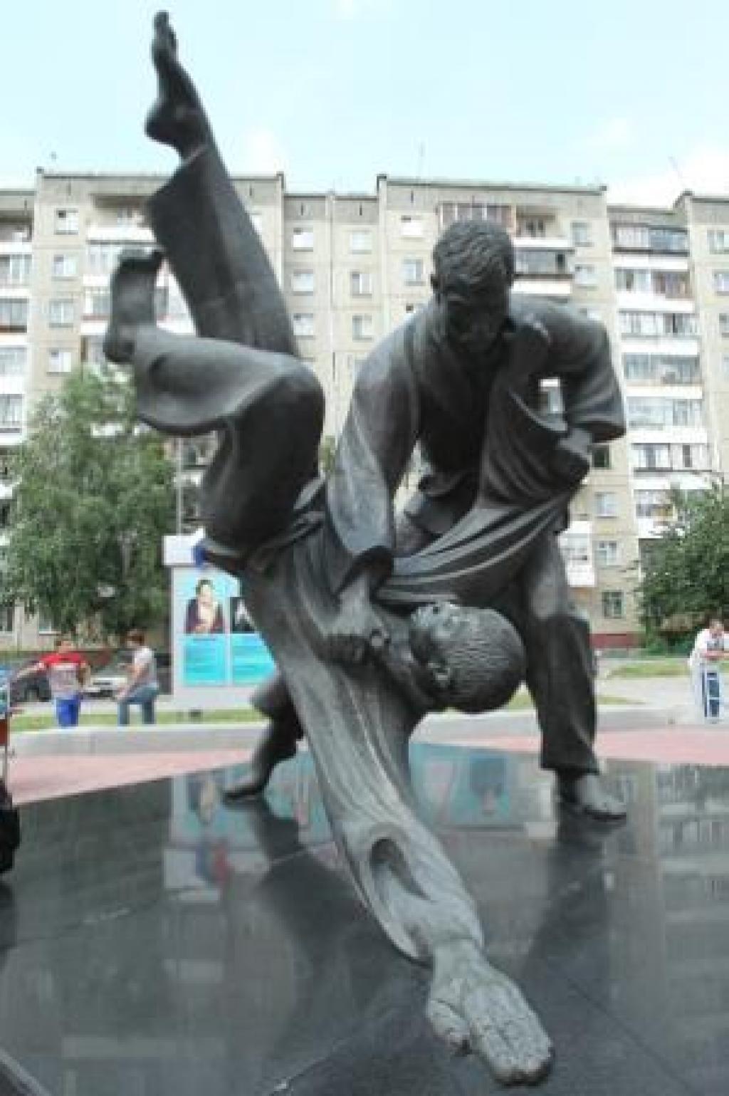 2012 European Championships flag raised in Chelyabinsk