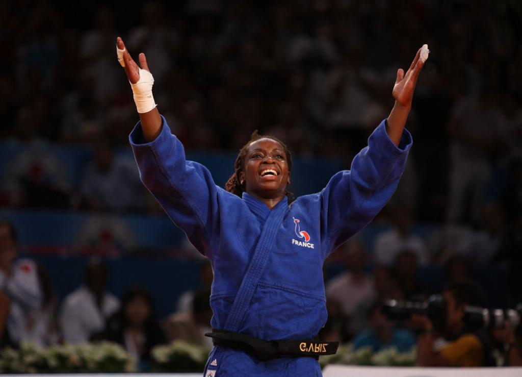 France crowd explodes with title for Gevrise Emane