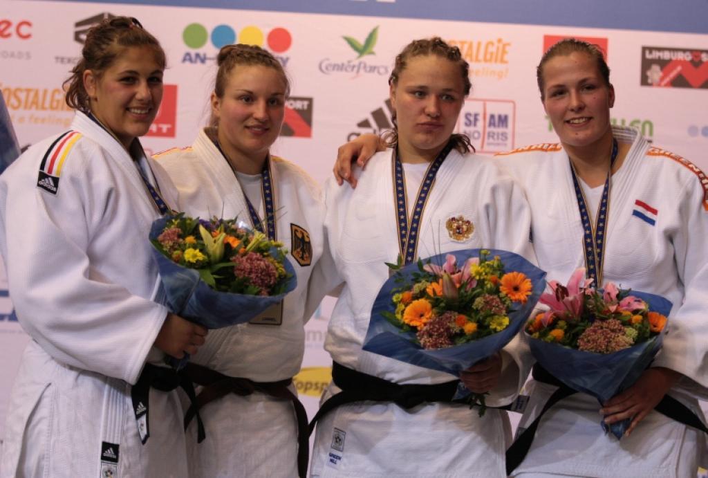 Germany rules in women's heavyweight category