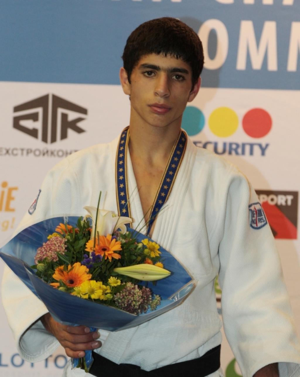 Harutyunyan takes European gold for Armenia