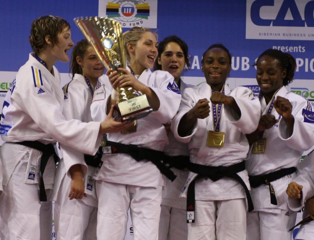 Women's team Levallois takes European Club title