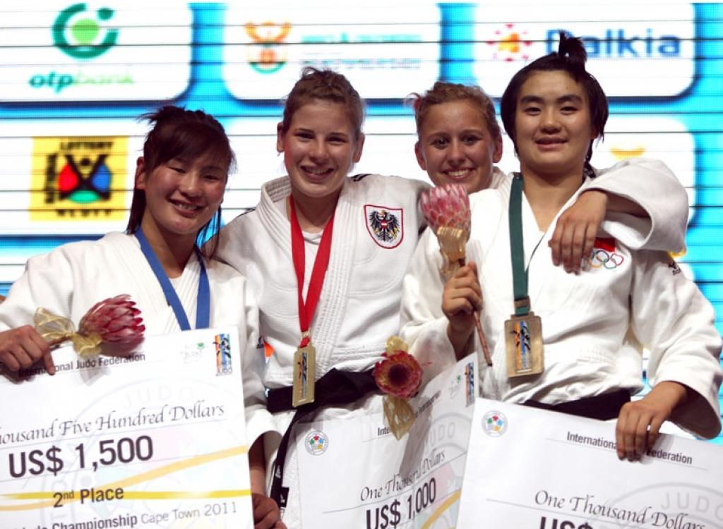 Russia and Austria enjoy fantastic judo day