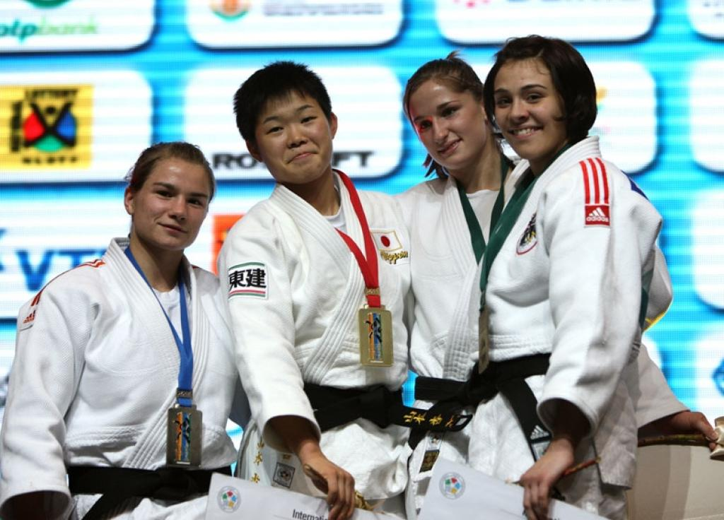 Four Junior World titles for Japan at 2nd day