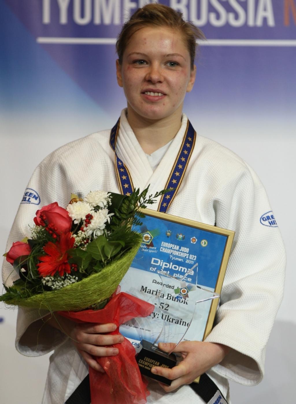 Buiok wins first European title