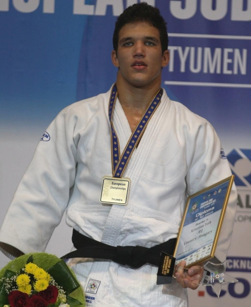 Youngster Krisztian Toth wins European U23 title