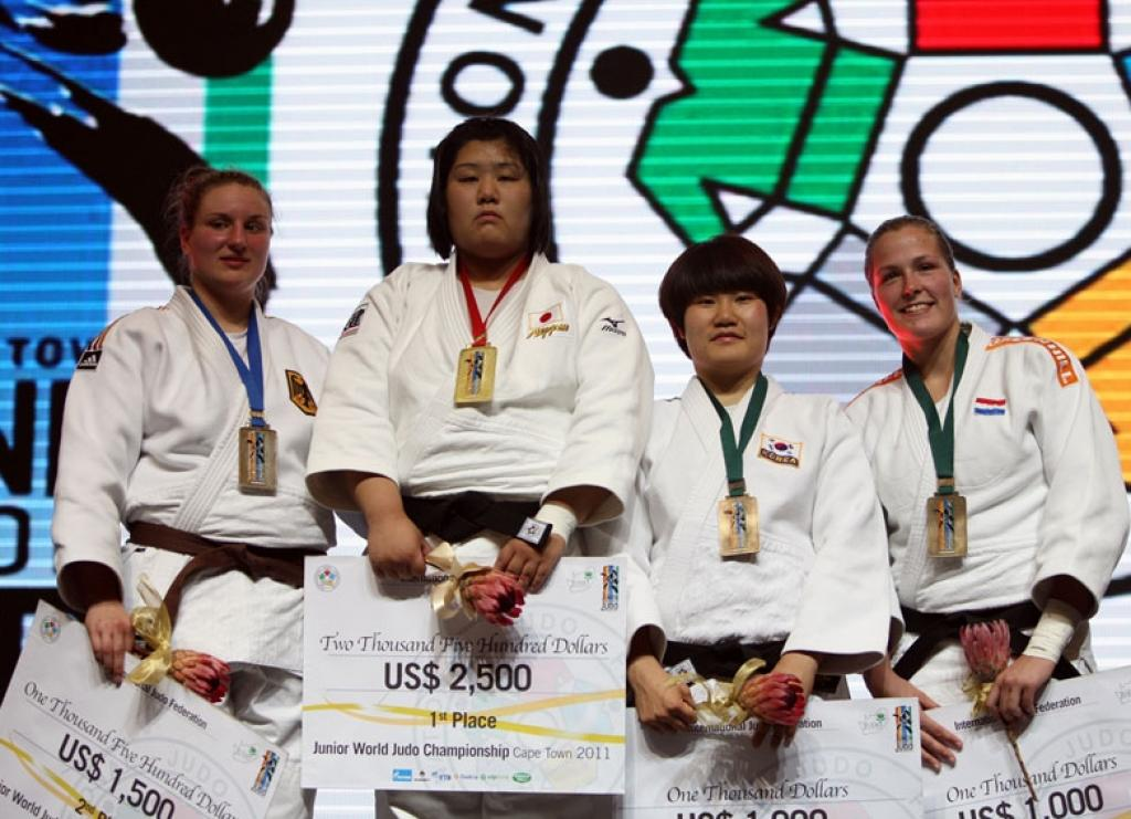 Germany takes three medals at last day of World Junior Championships