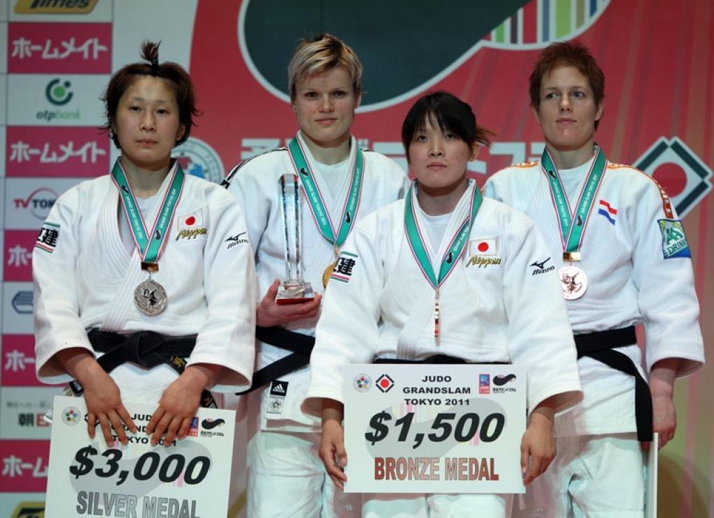 Urska Zolnir takes gold and defeats Ueno twice on home soil