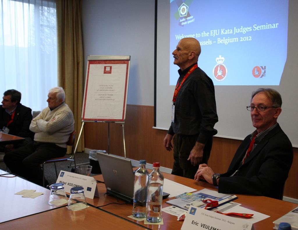 Kata Judges Seminar and Examination in Brussels