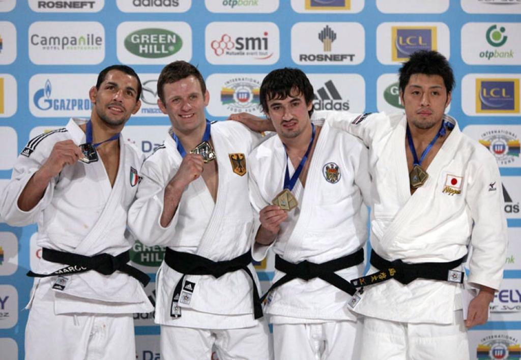 Bischof and Riner conquer gold for Europe
