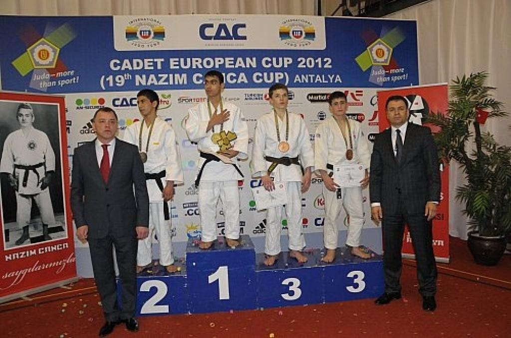 Turkey and Russia claim 10 medals at first day of European Cup Antalya