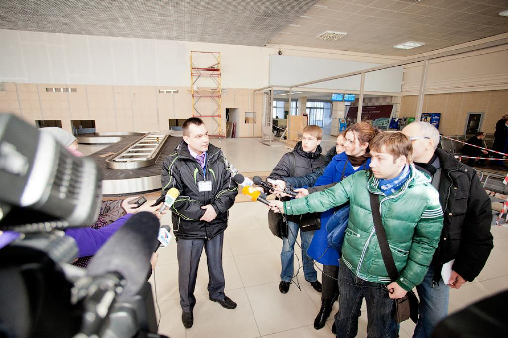 "Chelyabinsk Air Gate ""dresses up"" for the Euro-2012"
