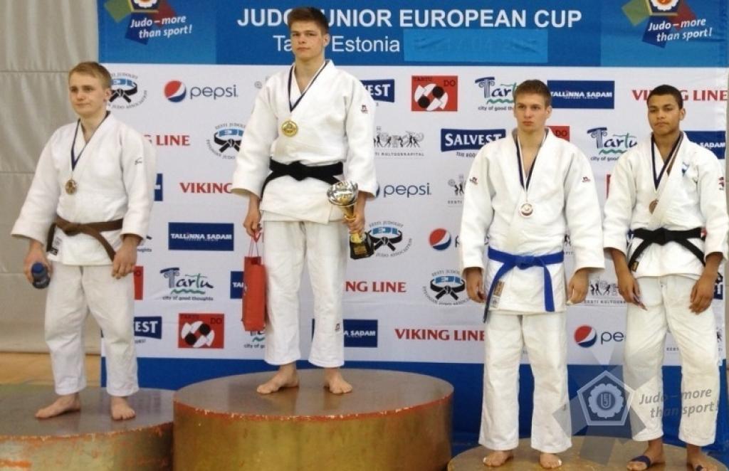 Surprising medals at European Junior Cup in Tartu