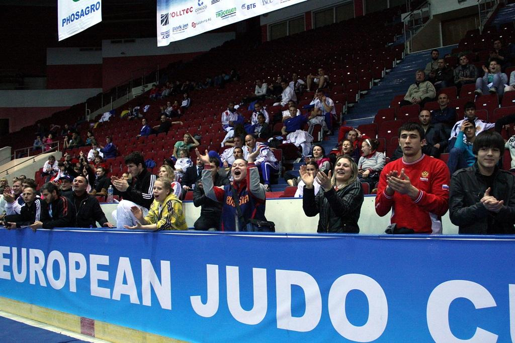 Russia dominant in Junior division at European Cup St. Petersburg
