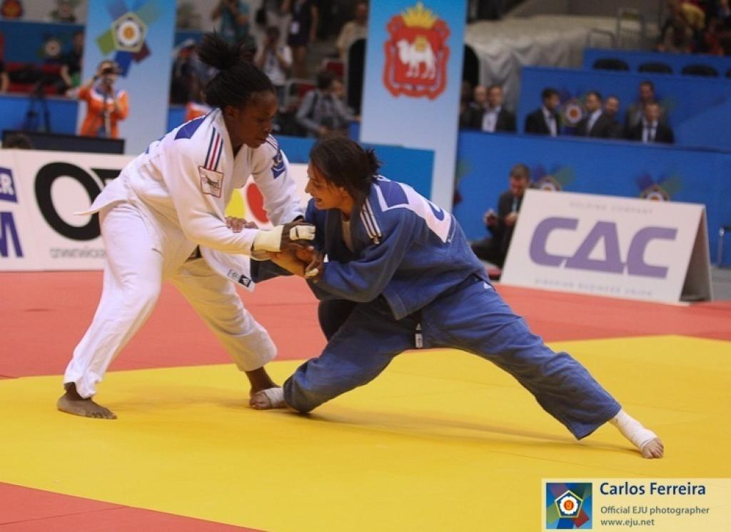 Emane satisfied about Olympic preparation claiming the European title