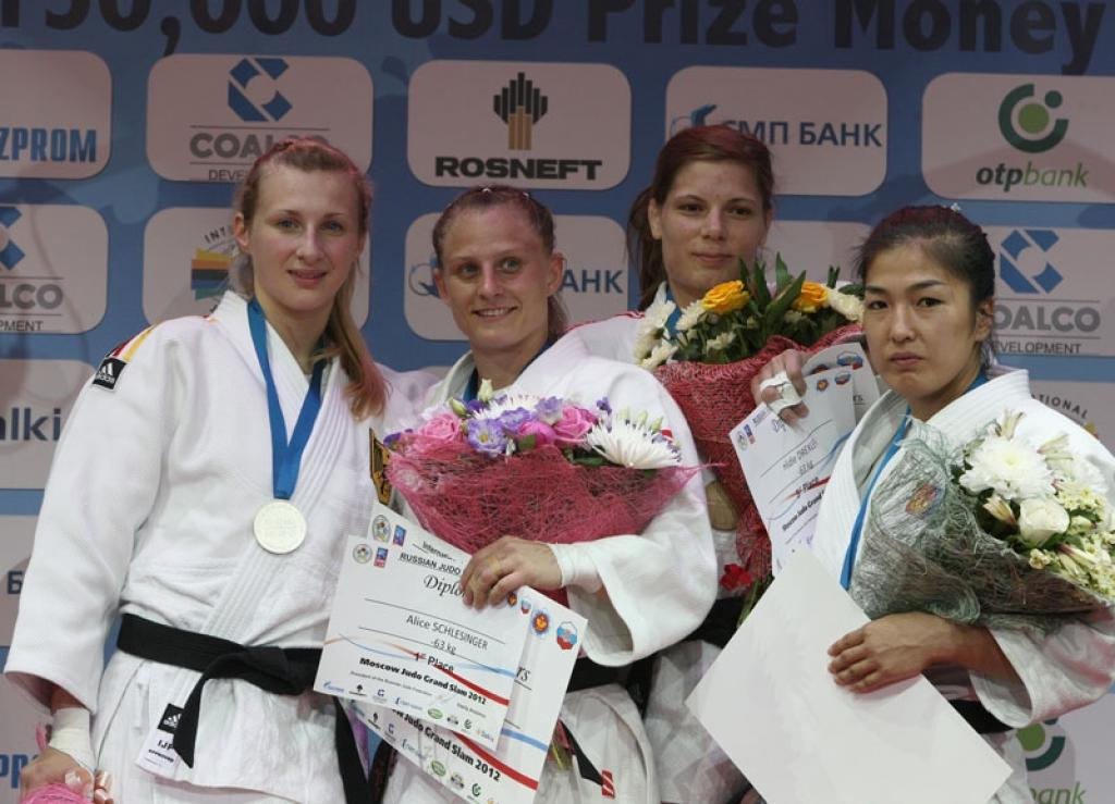 Romania and Israel take titles at Grand Slam Moscow
