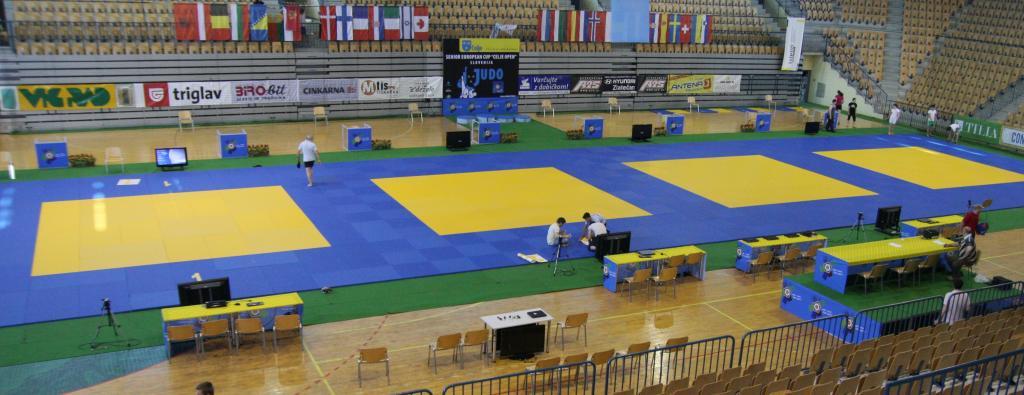 Olympic form test in Celje