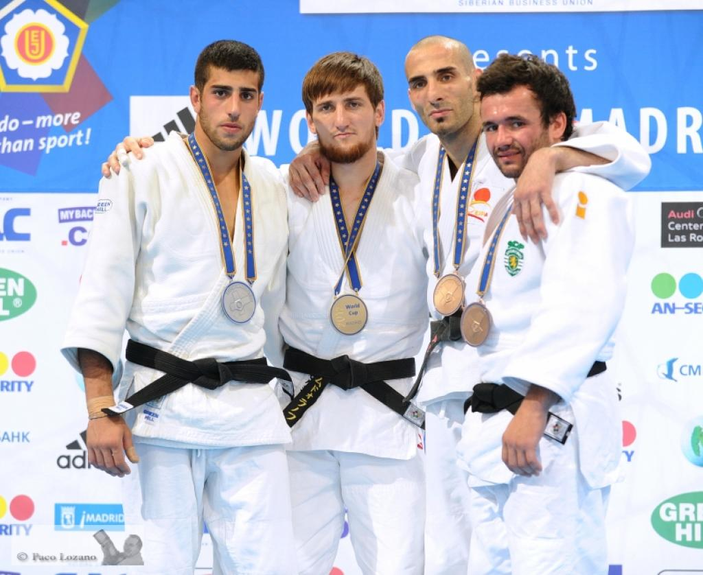 Four Russians claim gold at adidas World Cup in Madrid