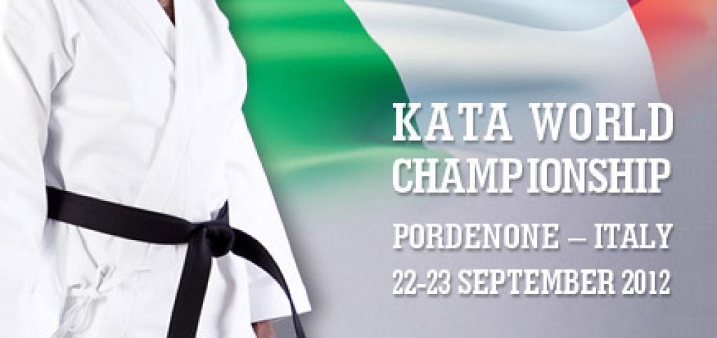 Kata World Championships warming up for Pordenone (ITA)