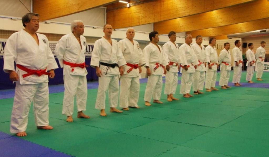 EJU President Soloveychik meets judo President of Japan