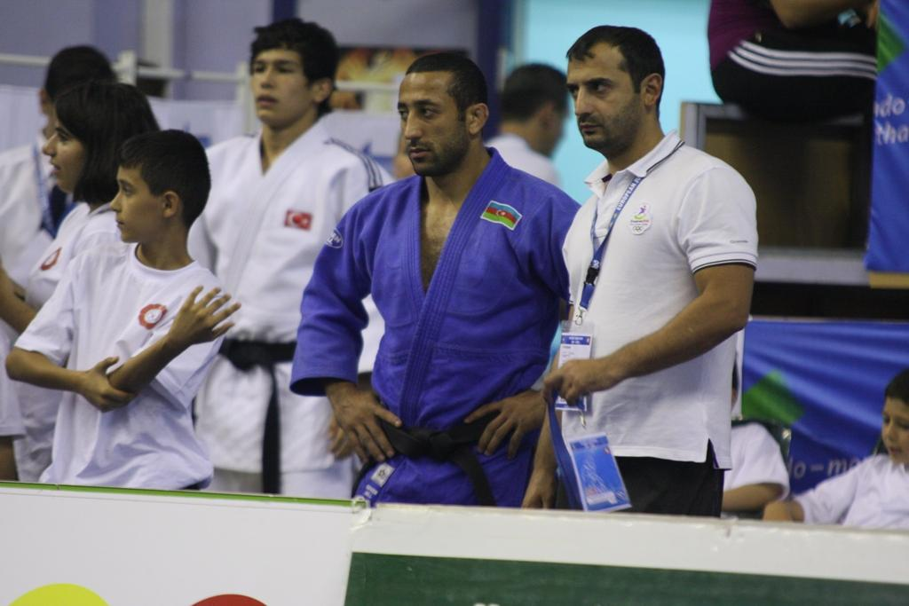 Shikhalizade judo superstar at the European Cup in Istanbul