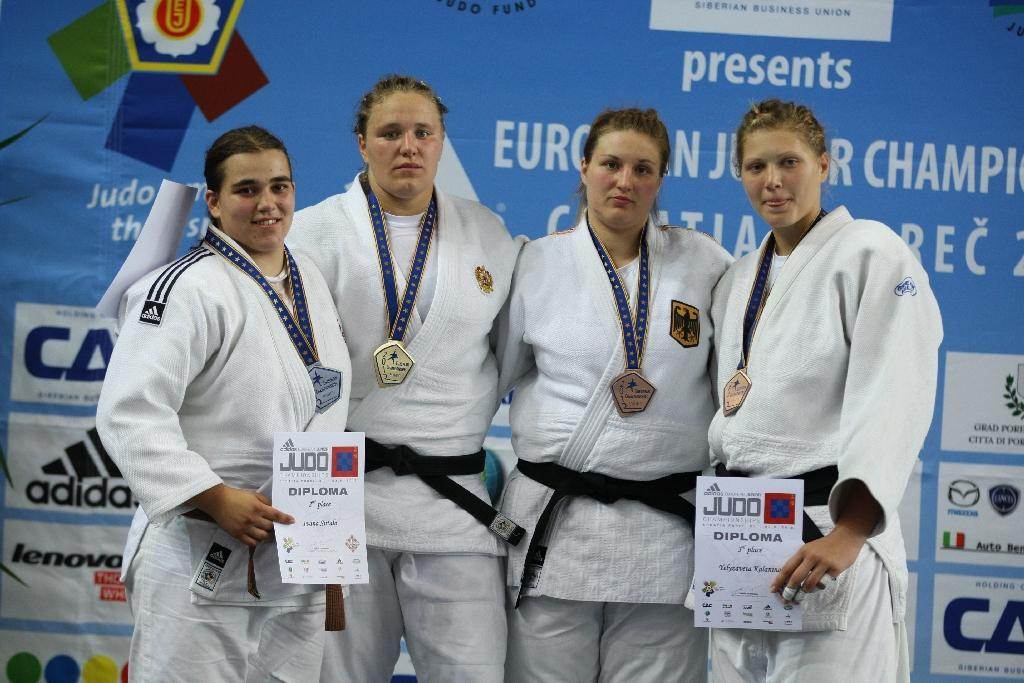 Babintseva peaks at right time, Croatia takes third silver