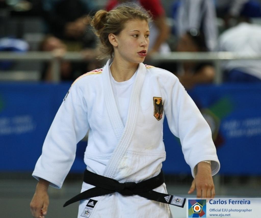 Sappho Coban finally realises she is European Champion