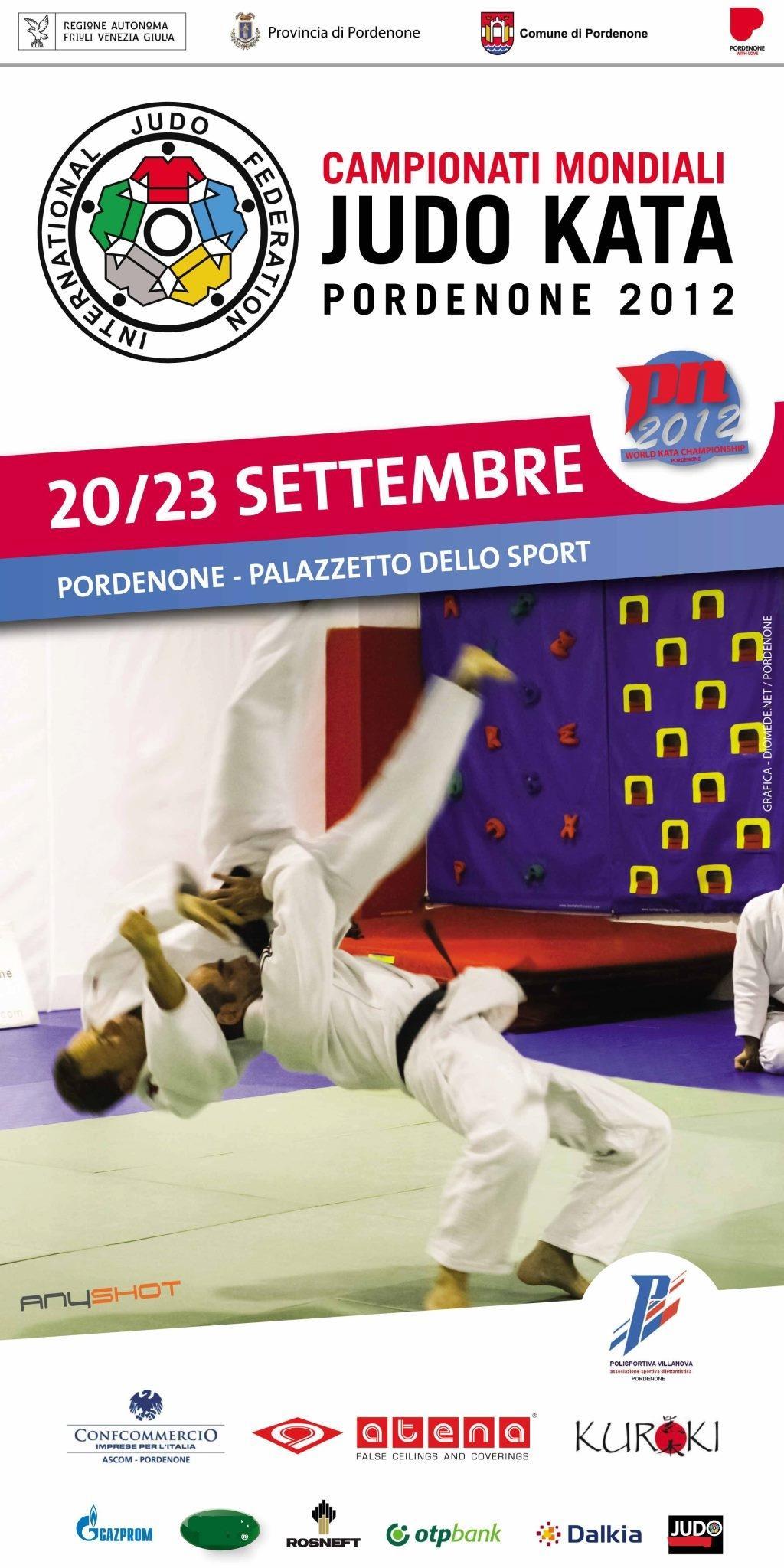Website Kata World Championships in Pordenone online