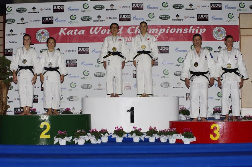 Japan three times gold at the Kata World Championships in Pordenone