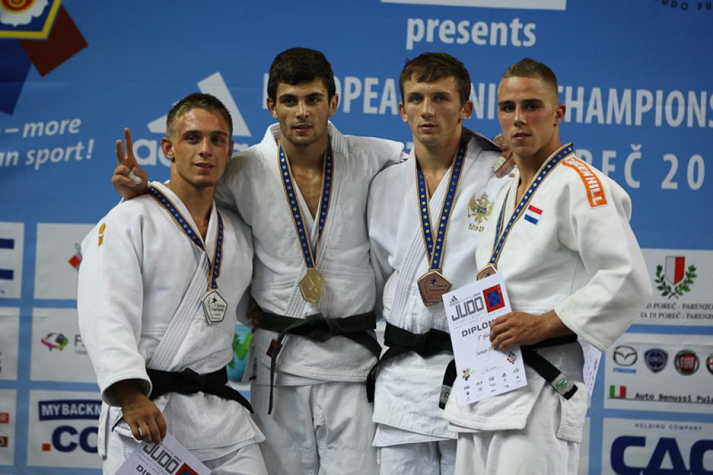 Greek Georgios Azoidis regains European Junior title