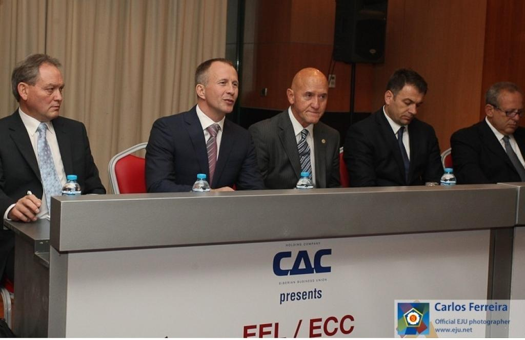 Draw of the EJU European League and Club Championships in Istanbul