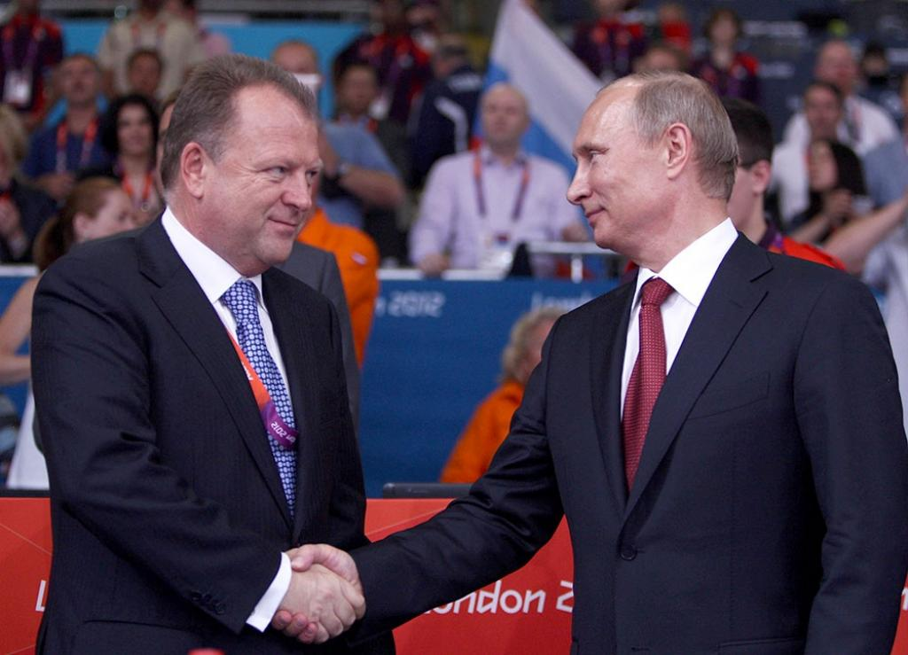 8th Dan attributed to Vladimir Putin