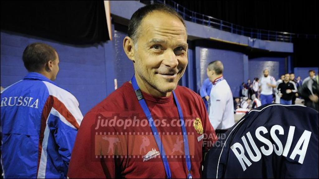 Ezio Gamba appointed head of both the Russian national Judo